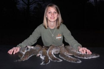 Hunters can turn their squirrel tails into fishing lures with this program.