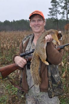 Fox squirrels inhabit different types of habitat from grays, including longleaf pines and cornfields, not hardwoods.