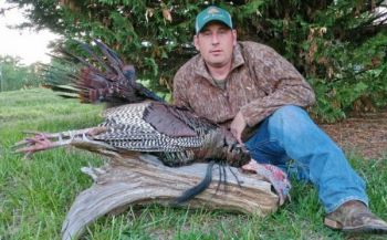 Tim Warren killed this gobbler on a Person County farm on May 2, 2018.