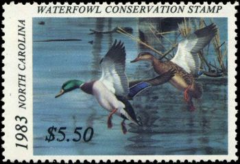 Artists are being sought for North Carolina's 2019 duck stamp competition. The winner will receive $7000.