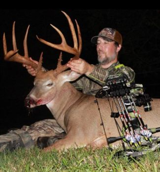 Jason Carter passed on shooting this buck twice, then missed it once, before finally killing it on Sept. 21, 2018 in Alamance County, NC.