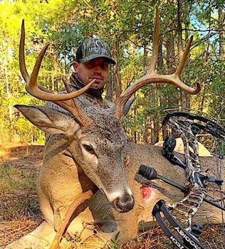 Robert Clark killed this 130-class buck in Laurinburg County while bowhunting on Oct. 26, 2018.